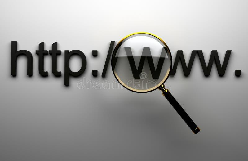 万维网http 库存例证
