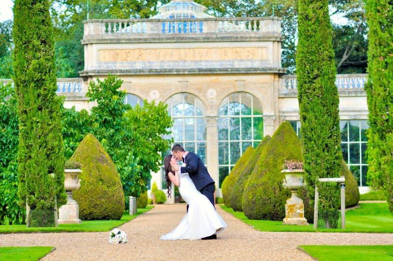 丈夫和妻子宫殿的 免版税库存照片