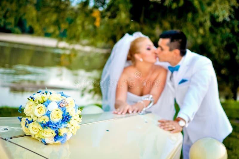 年轻丈夫和妻子 免版税库存照片