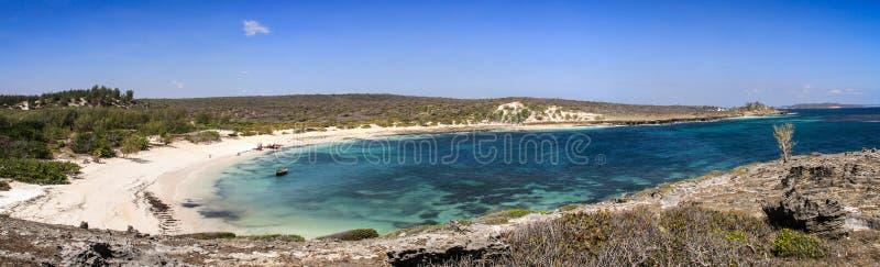 三个海湾,地亚哥苏亚雷斯,戴安娜,马达加斯加 免版税图库摄影