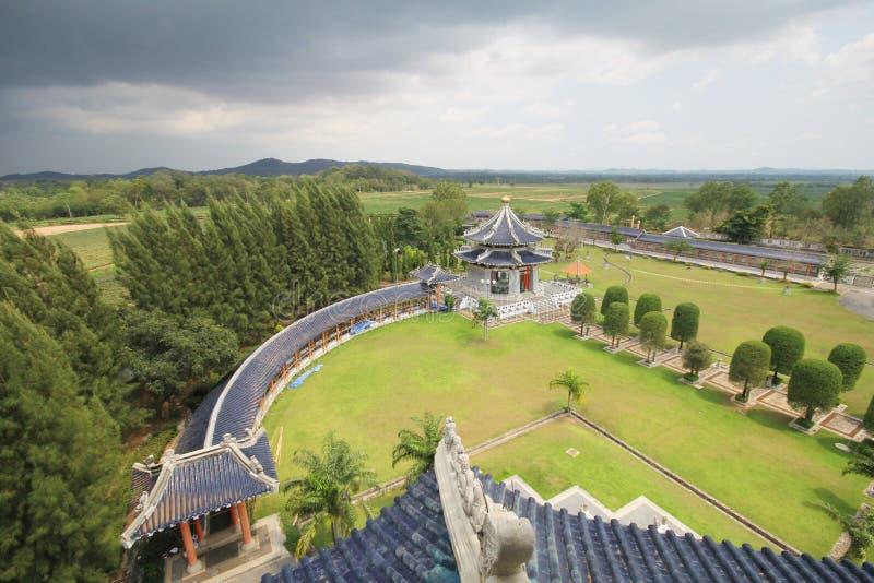 三个王国公园,芭达亚泰国 免版税库存照片