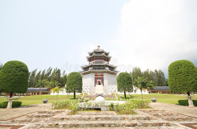 三个王国公园,芭达亚泰国 免版税库存图片
