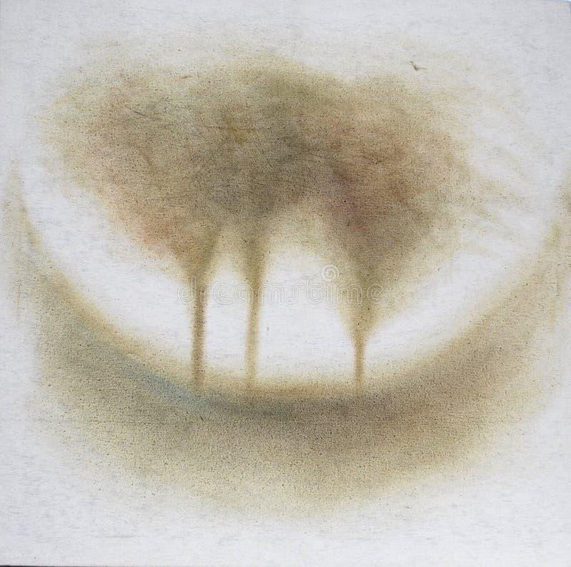 三个结构树 向量例证