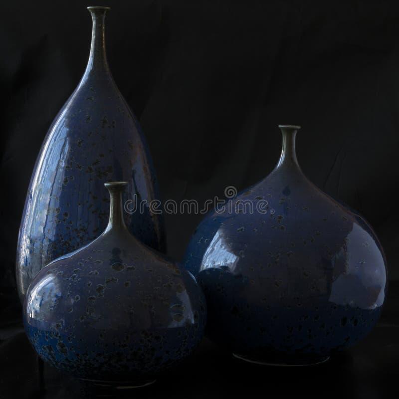 三个花瓶 免版税图库摄影