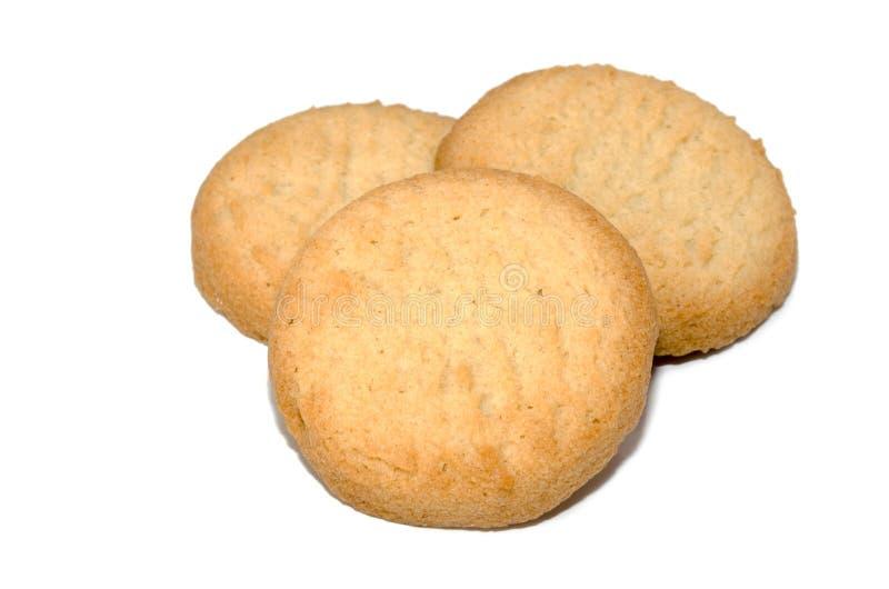 三个饼干 库存照片