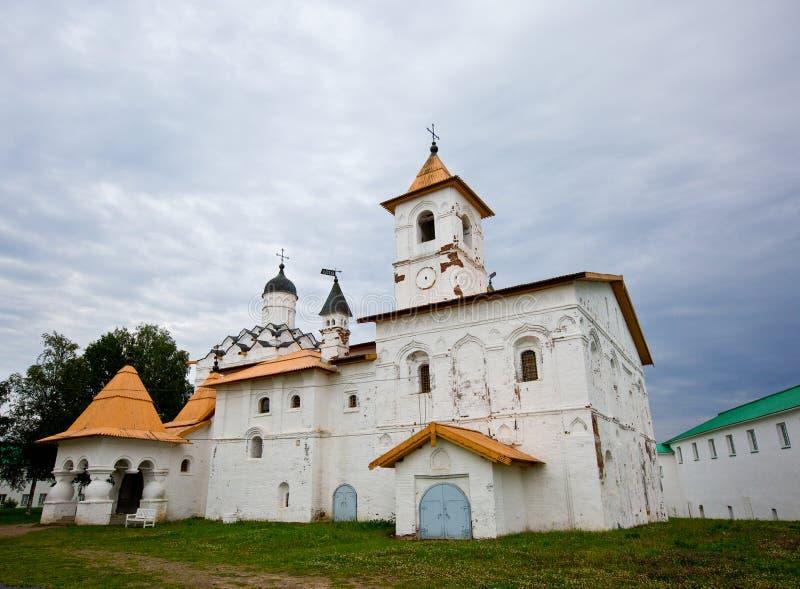 三位一体亚历山大Svirsky修道院-正统修道院 库存图片