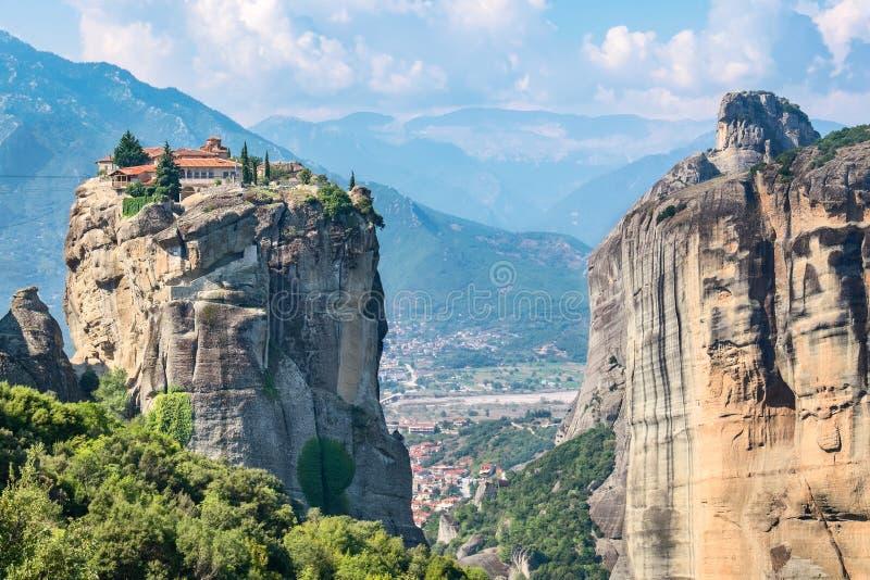 三位一体修道院 希腊meteora 库存照片