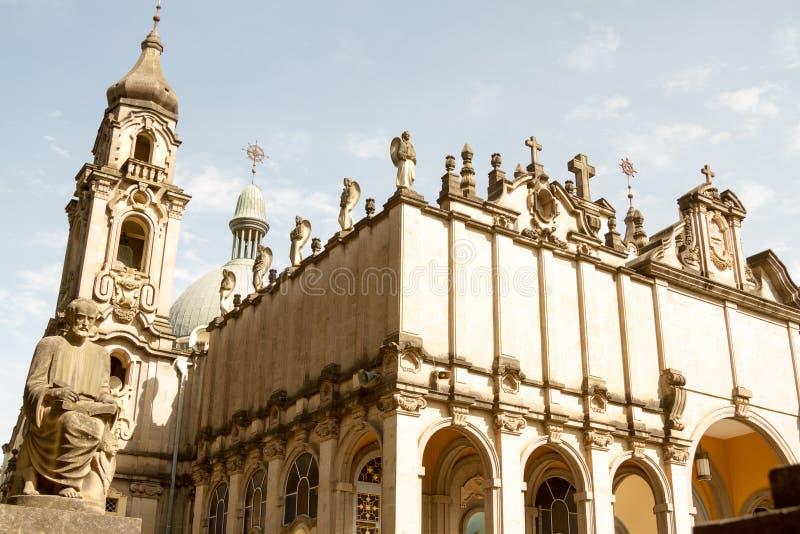 三位一体大教堂,亚的斯亚贝巴,埃塞俄比亚 库存照片