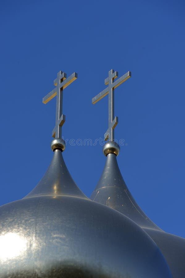 三位一体大教堂-巴黎 免版税图库摄影