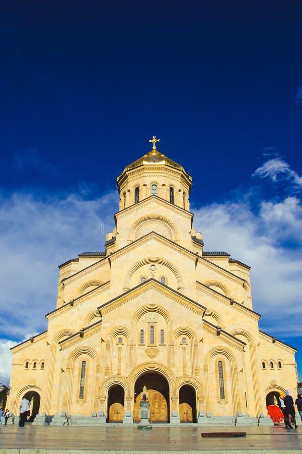 英�z(�X[_三位一体大教堂tsminda sameba在第比利斯,乔治亚 英王乔治一世至三世