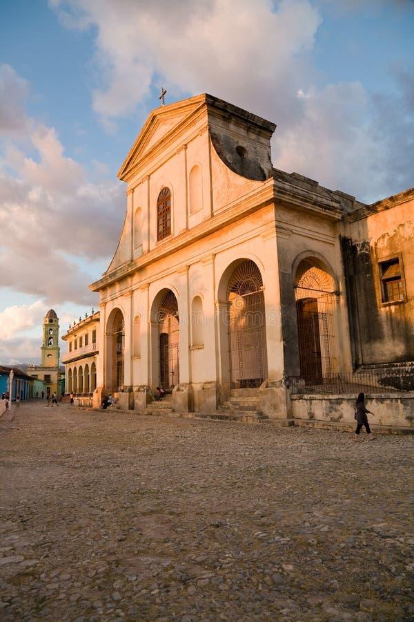 三位一体教会,特立尼达 免版税库存照片