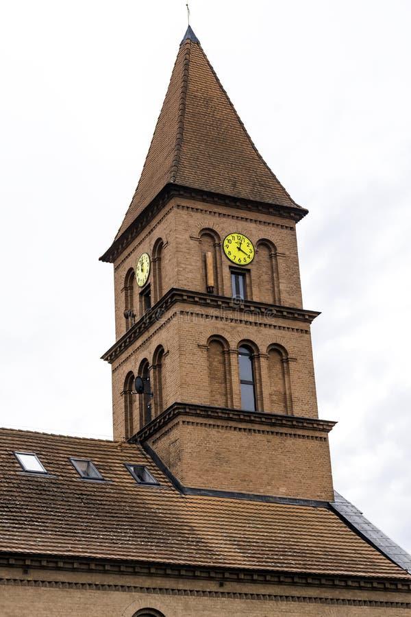 三位一体的教会-托伦,波兰 免版税库存照片