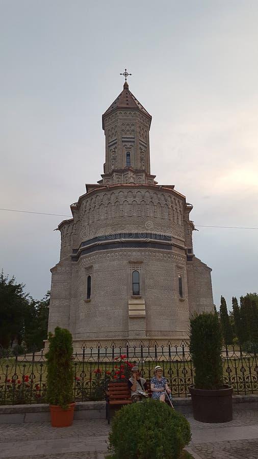 三圣洁Hierarhs修道院, Iasi,罗马尼亚 图库摄影
