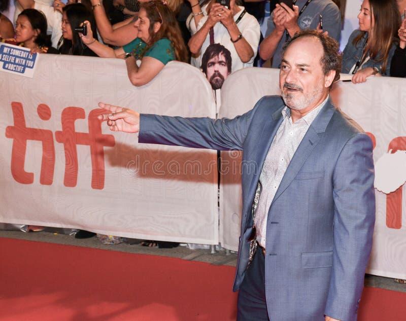 `三在多伦多国际电影节的Christs `首放的凯文Pollak  免版税库存图片
