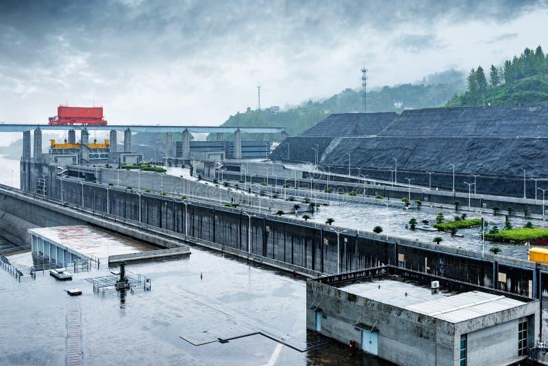 三峡大坝,中国 免版税库存照片