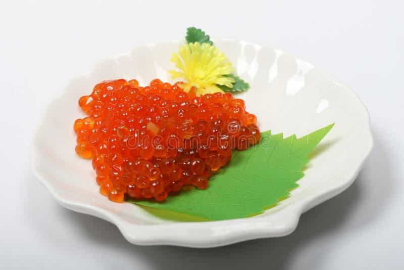 三文鱼鱼子酱 图库摄影