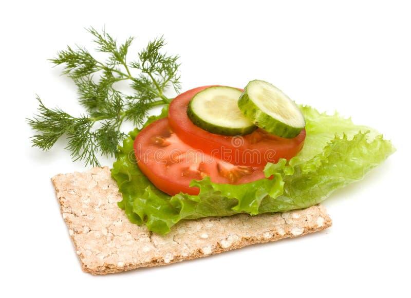三明治素食主义者 免版税图库摄影