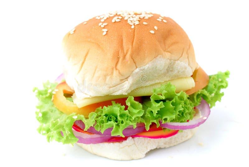 三明治素食主义者 免版税库存照片