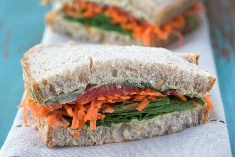 三明治蔬菜 免版税图库摄影