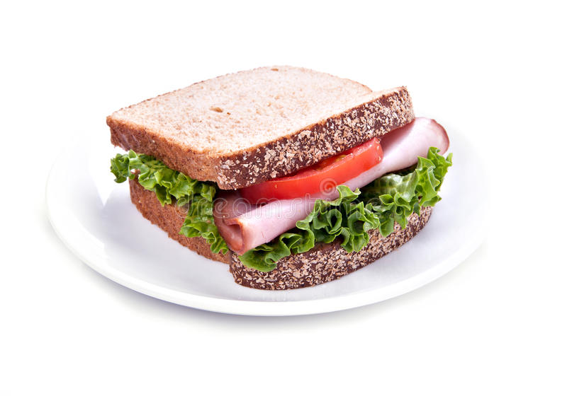 三明治 图库摄影