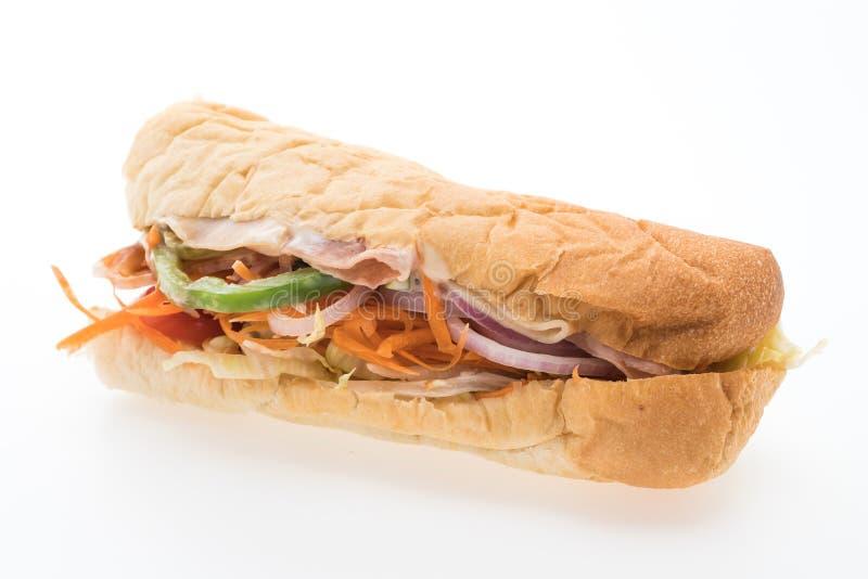 Download 三明治 库存图片. 图片 包括有 美食, 背包, 火腿, 蕃茄, 午餐, 干酪, 查出, 快速, 小圆面包 - 72364933