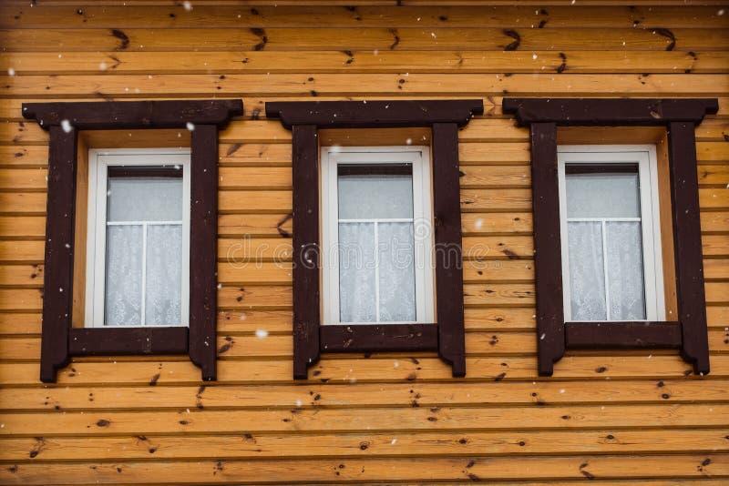 三木窗口 免版税库存图片