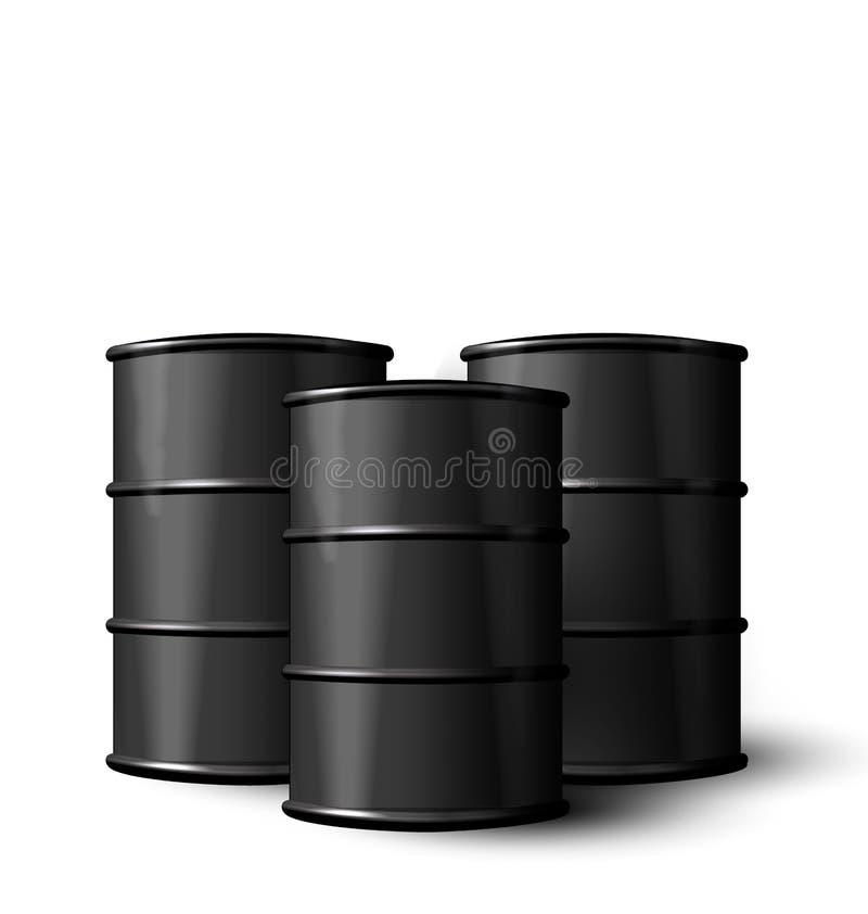 三油桶现实黑金属被隔绝的 皇族释放例证
