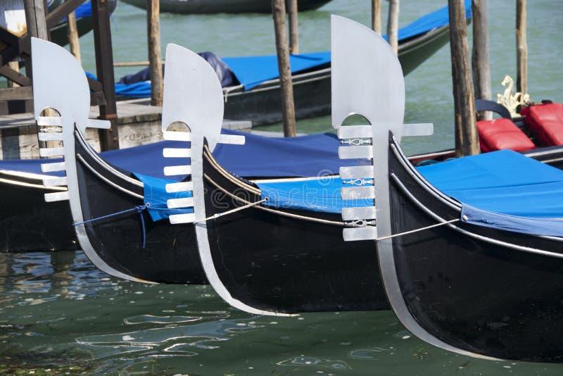 三耶老岛的长平底船 图库摄影