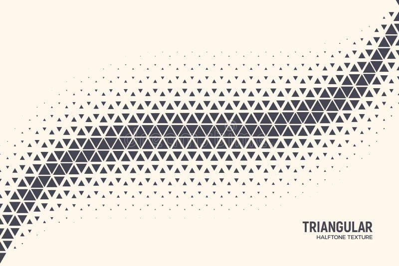 三角传染媒介摘要技术背景 库存例证