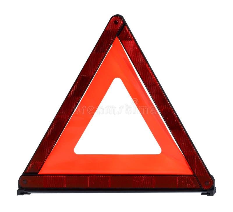 三角安全反射器 库存照片
