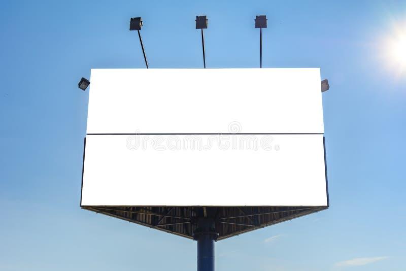 三角广告牌 免版税库存图片