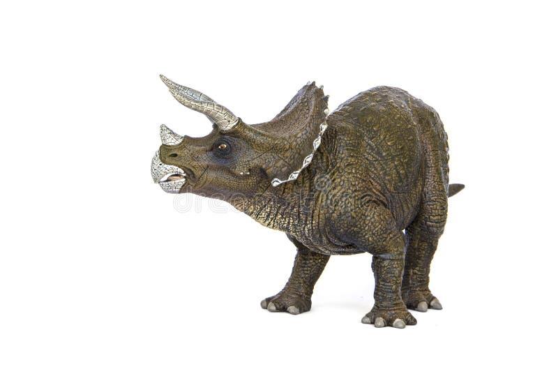 三角恐龙恐龙 库存照片