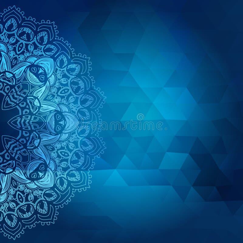 三角抽象背景,传染媒介illustratio 库存例证