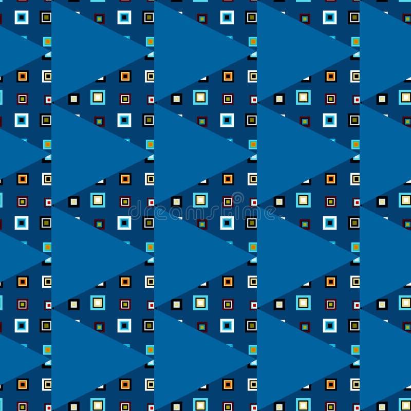 Download 三角无缝的样式 向量例证. 插画 包括有 几何, 减速火箭, 方式, 颜色, 装饰, 抽象, 织品, 对比 - 62539232