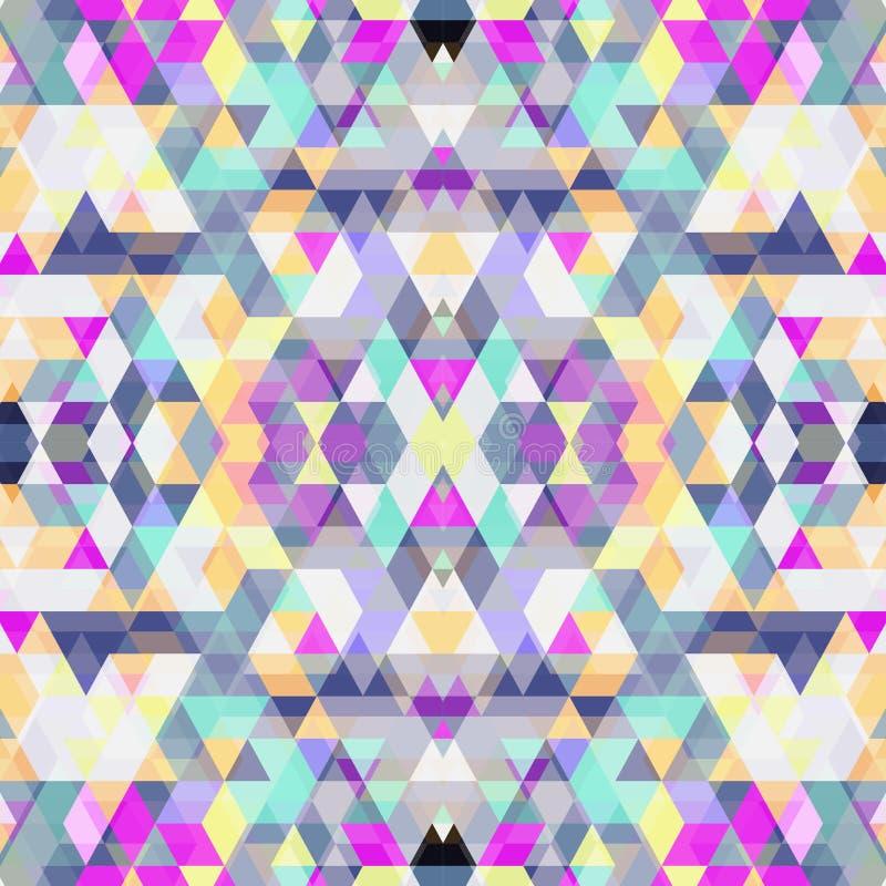 三角无缝的背景 库存照片