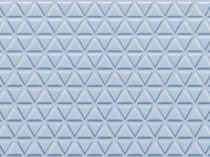 三角样式3D翻译 皇族释放例证