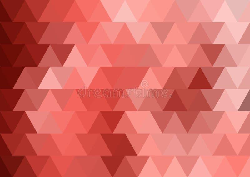 三角背景的平行的结构 免版税库存照片
