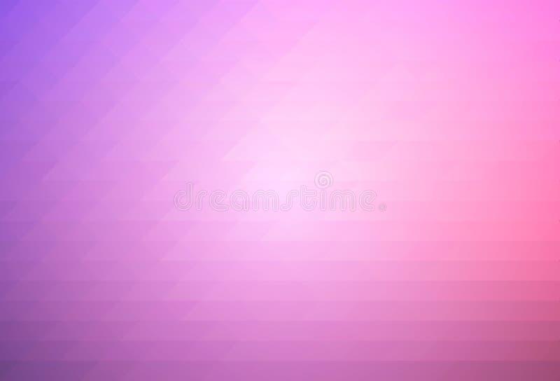 三角背景紫色蓝色桃红色行  向量例证
