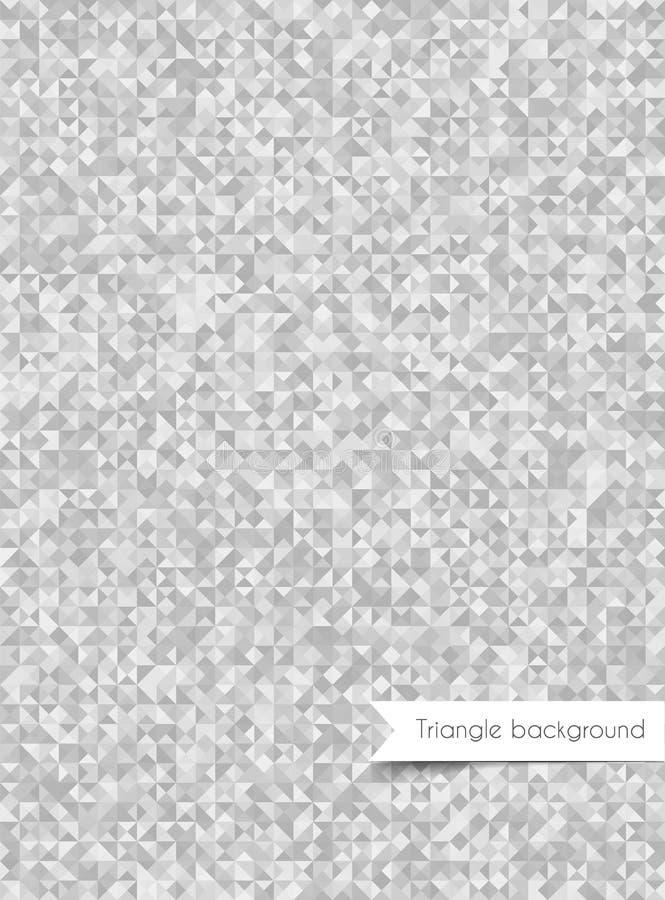 三角背景 库存例证
