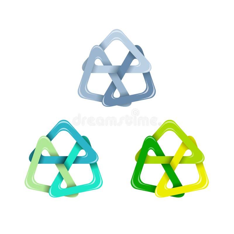 三角设计要素 向量例证