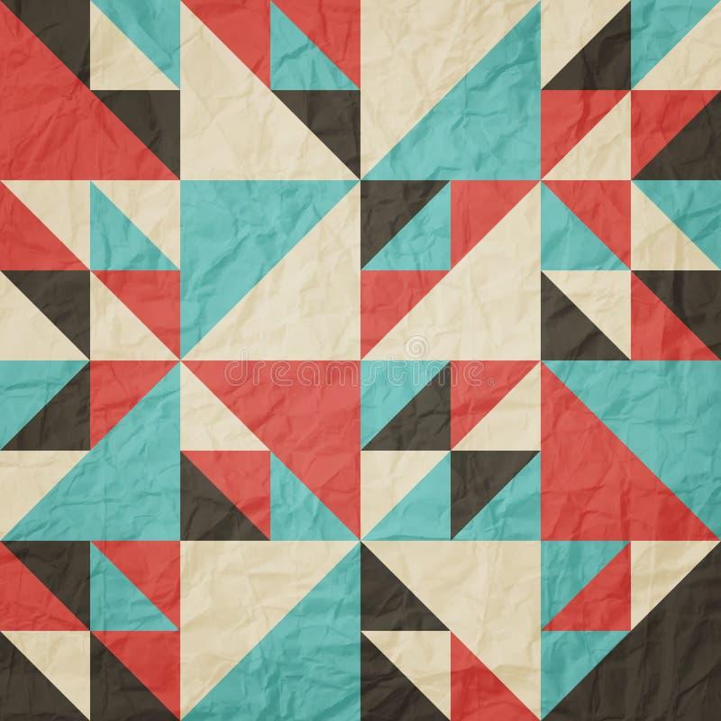 三角洲纸 向量例证