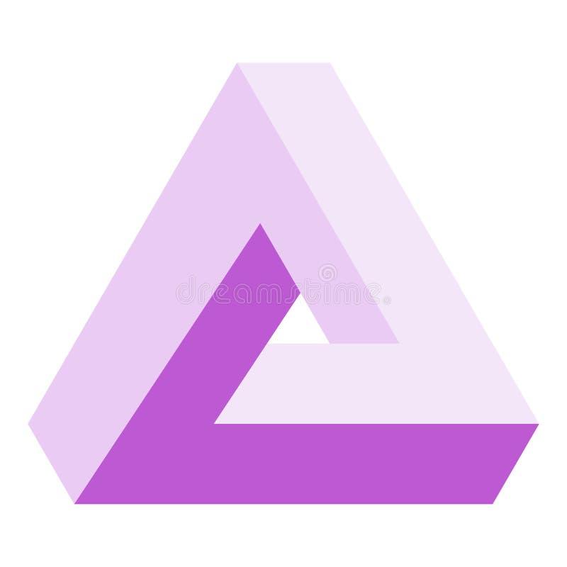 三角 皇族释放例证