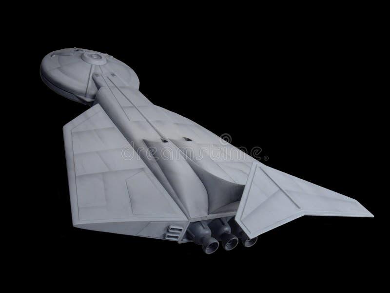 三角洲Starship一 免版税图库摄影