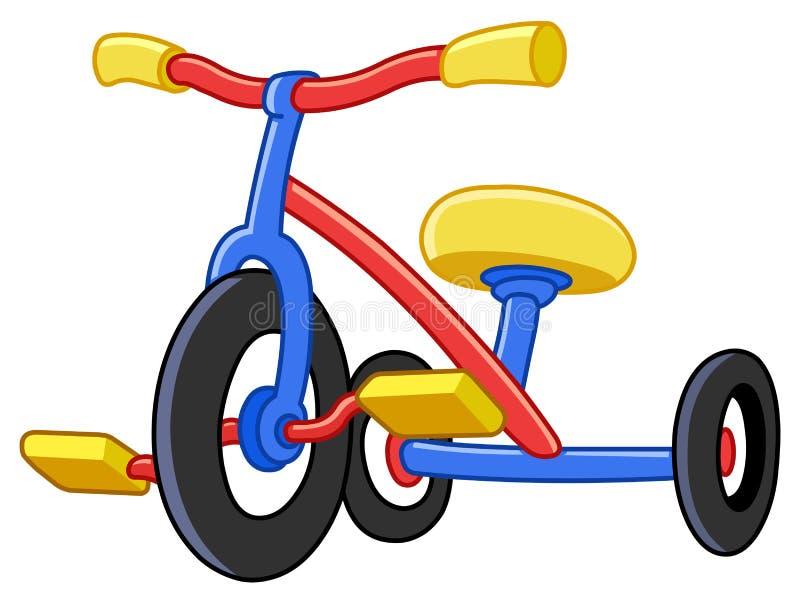 三轮车 向量例证