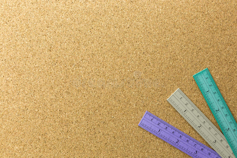 三统治者地方的颜色黄柏板的 库存图片