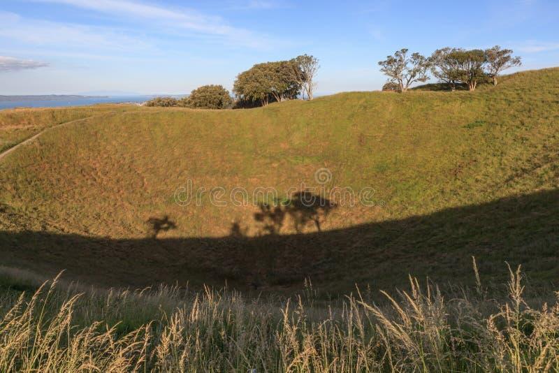 登上伊甸园有自然风景背景 免版税图库摄影