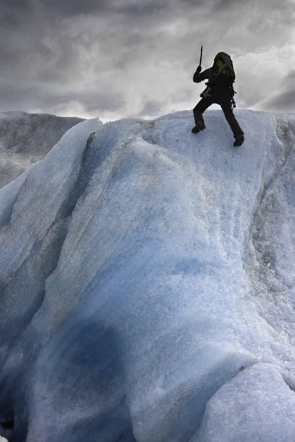 上升的冰 免版税库存图片