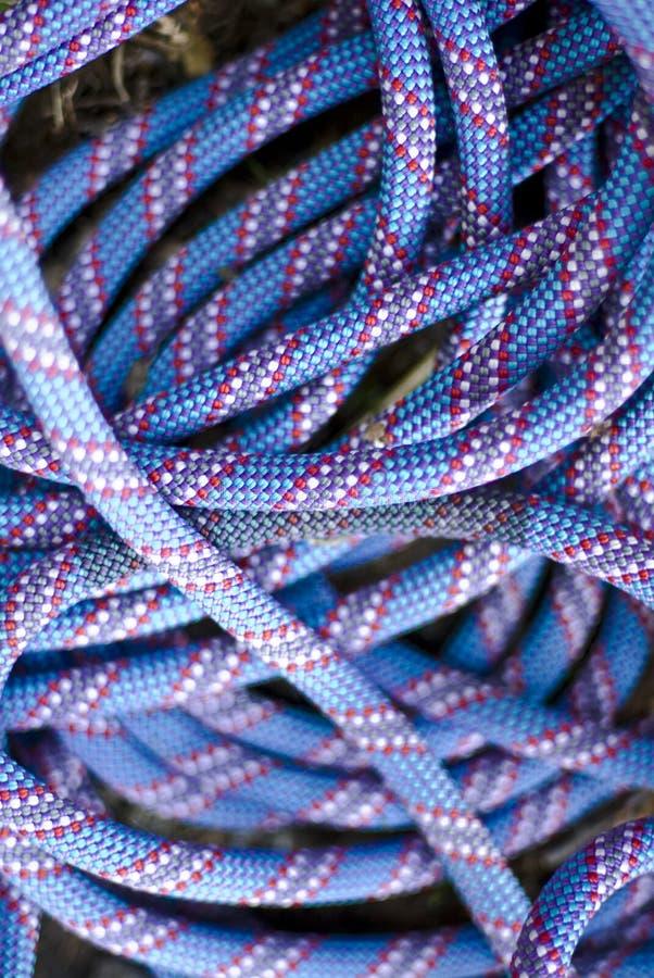 上升的绳索 免版税库存照片