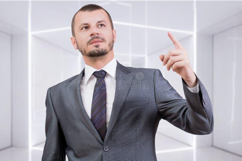 上司指向 免版税库存照片