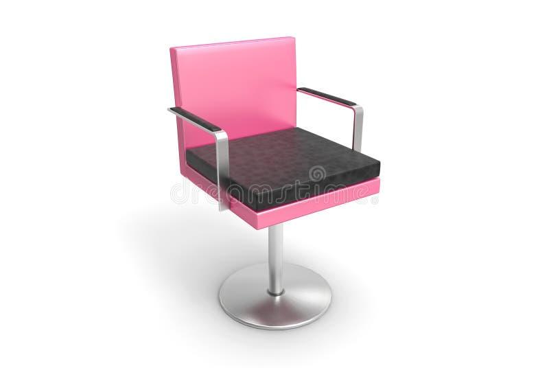 上司椅子(桃红色) 免版税库存图片